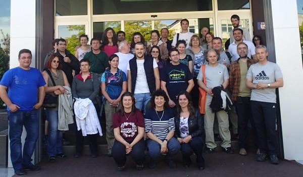 Участниците в обучението на Асоциация на парковете в България