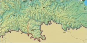 Карта: www.strandja.bg/