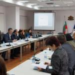 Среща с представителите на Програмата Човекът и биосферата към ЮНЕСКО, общини, РИОСВ, заинтересовани организации, МЗХ и МОСВ. Снимка: © Петко Цветков / БФБ